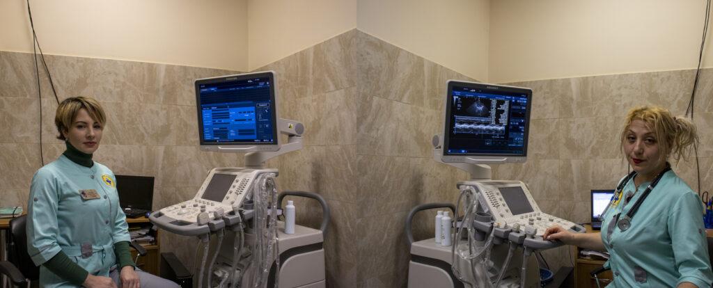 Новий апарат для проведення ультразвукового дослідження